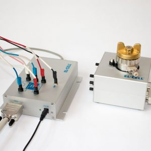 Wired test setup with PAT-Cell-Press