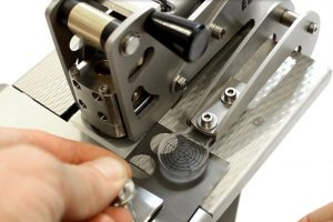 Reduce waste of electrode material by using the ECC-StopRail crossharis to target the cutting area very precisely.