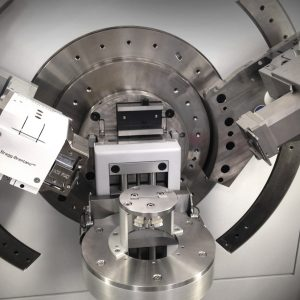 The ECC-Opto-Std with ECC-Opto Beryllium window kit II has been installed in the Empyrean diffractometer from Malvern Panalytical for CC cycling experiments.